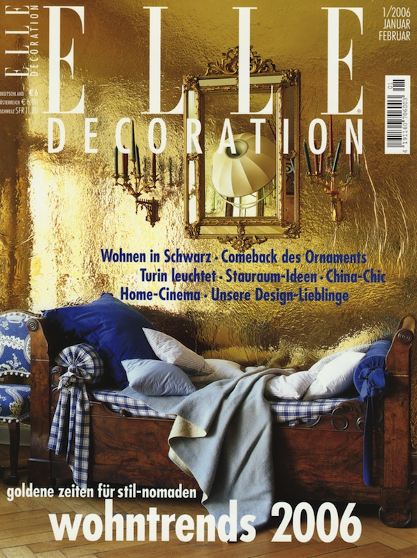 ELLE DECO Germany January 2006