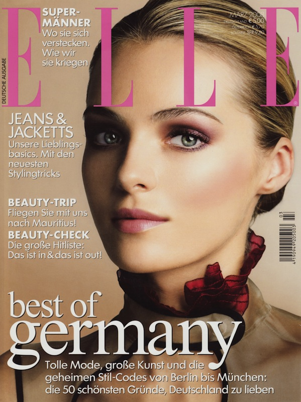 ELLE Germany March 2008