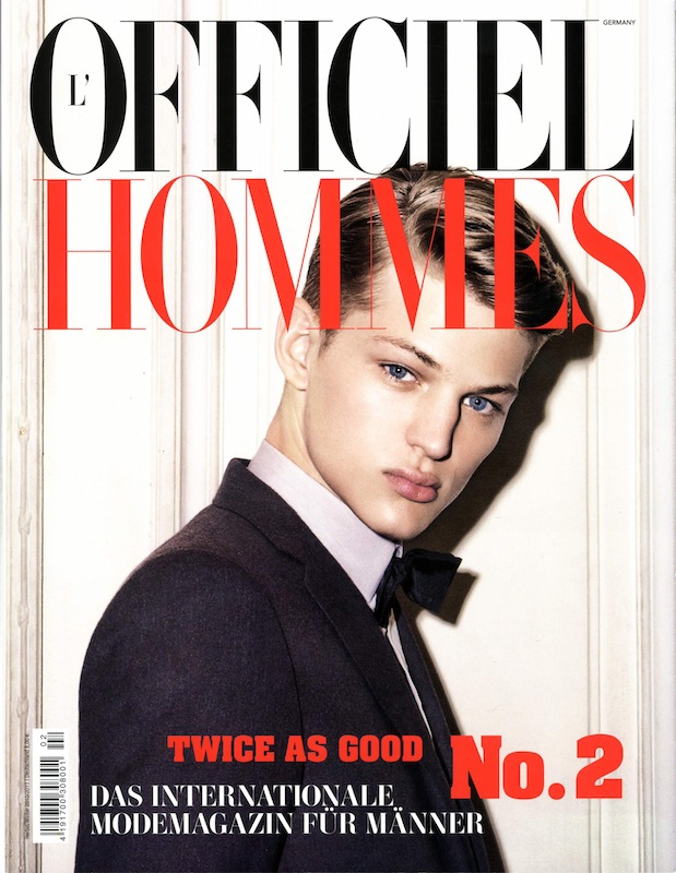 L'Officiel Hommes Winter 2010