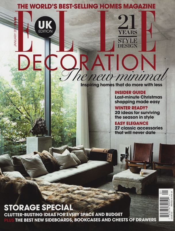 ELLE DECO UK January 2011
