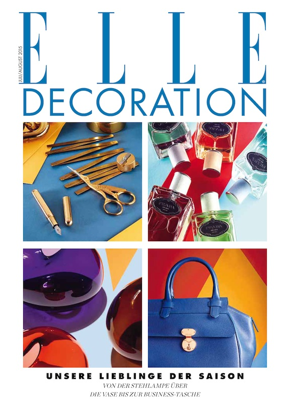 ELLE DECORATION July/August 2015