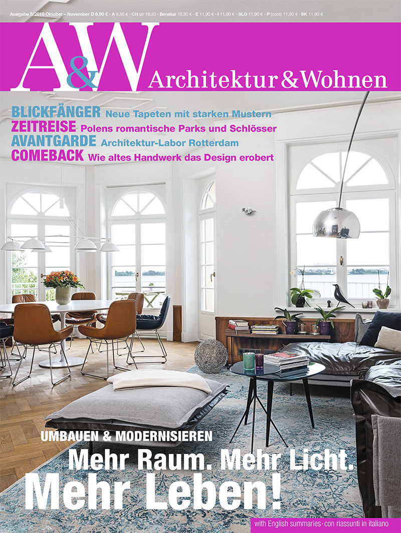 ARCHITEKTUR & WOHNEN October/November 2016